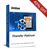 40% OFF for iTransfer Platinum