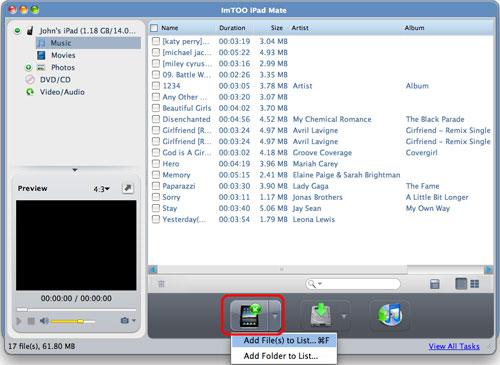 ImTOO iPad Mate for Mac