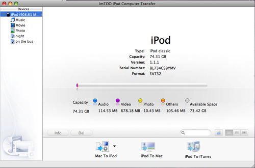 How to transfer music, video and photo from iPod to Mac?