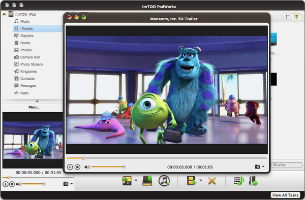 ImTOO PodWorks for Mac