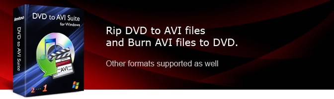 DVD to AVI Suite
