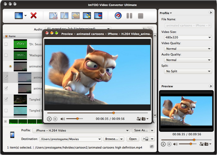 Video Converter Ultimate for Mac start up